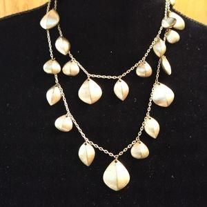 Lia Sophia Gold Tone Long Necklace